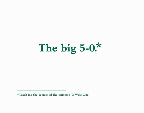 The Big 50