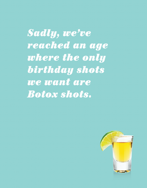 Birthday Shots