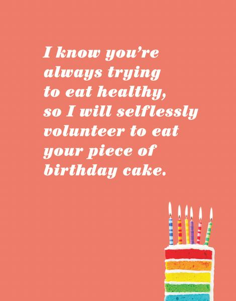 Selfless Birthday
