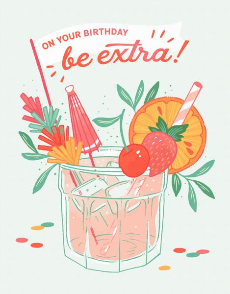 Birthday Cocktail