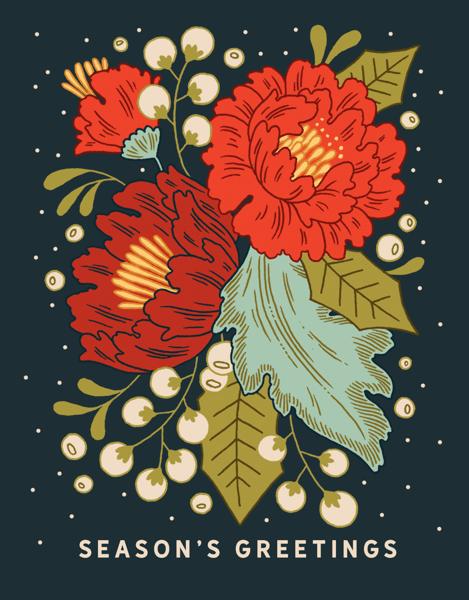 Festive Florals
