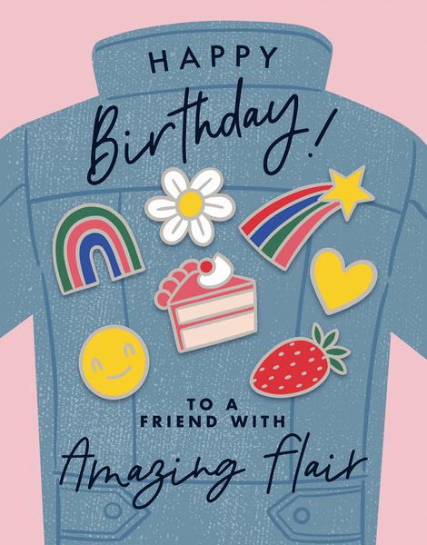 Birthday Flair
