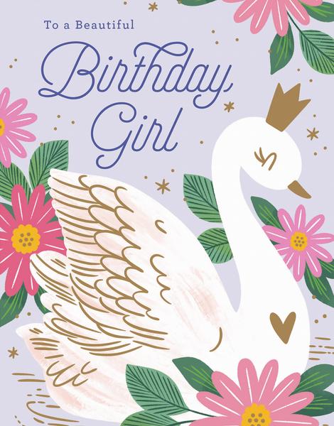 Birthday Swan