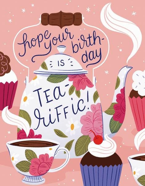 Tea-Riffic Birthday