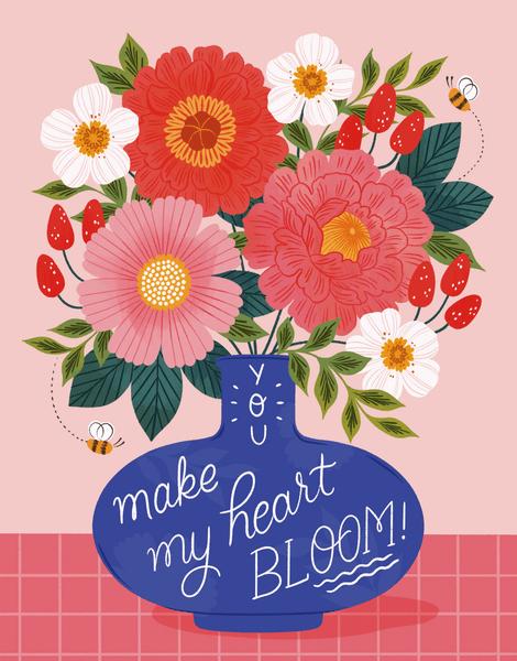 Heart Bloom