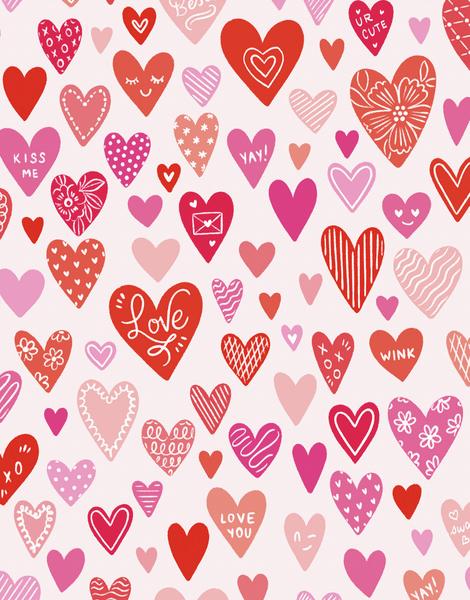 Heart Pattern Love
