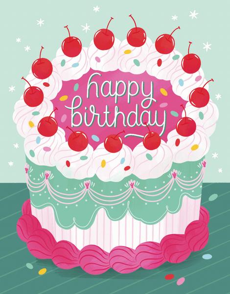 Fancy Cake Birthday