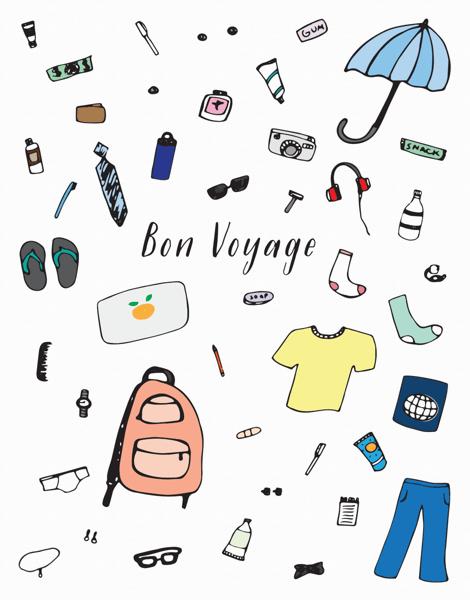 Bon Voyage Items
