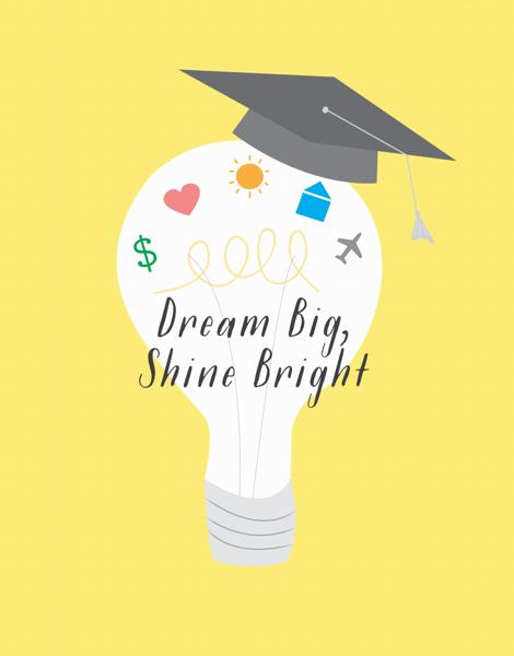Graduation Light Bulb
