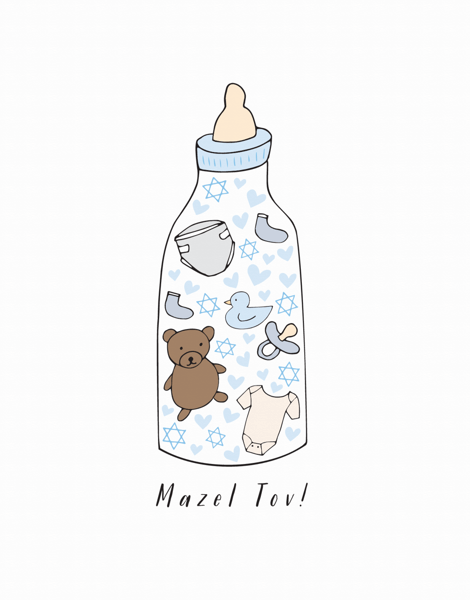 Mazel Tov Bottle