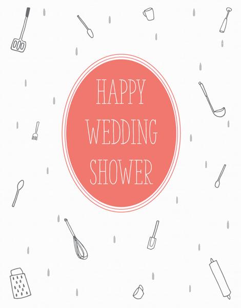 Wedding Shower Utensils
