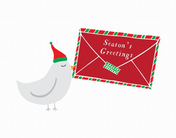 Season's Greetings Mail