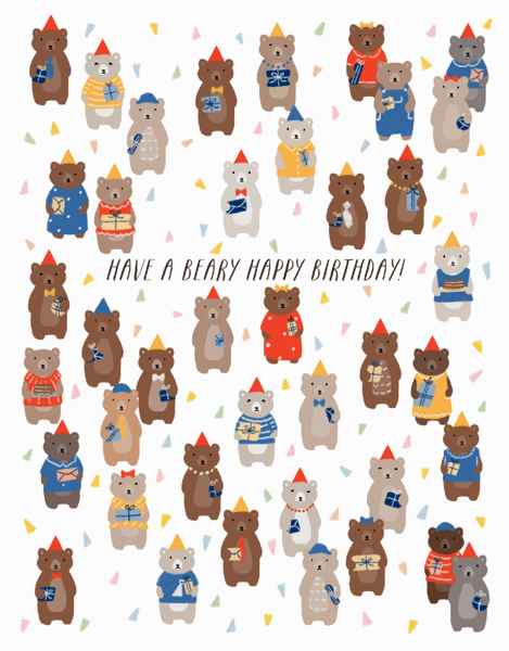 Birthday Bears