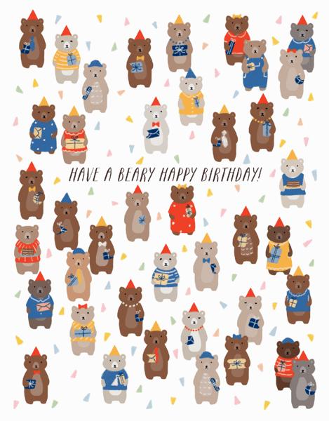 Birthday Bears
