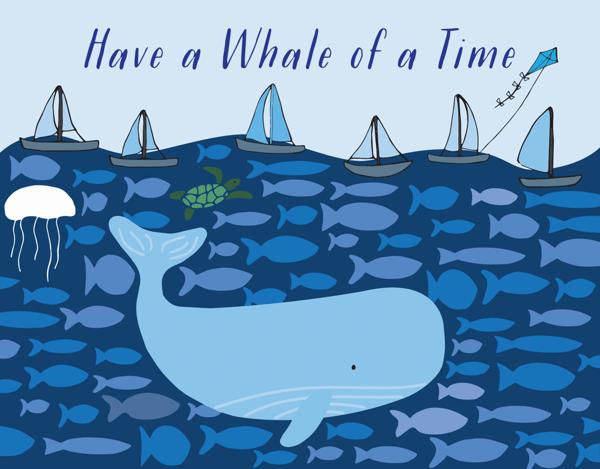 Bon Voyage Whale