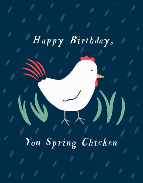 Spring Chicken