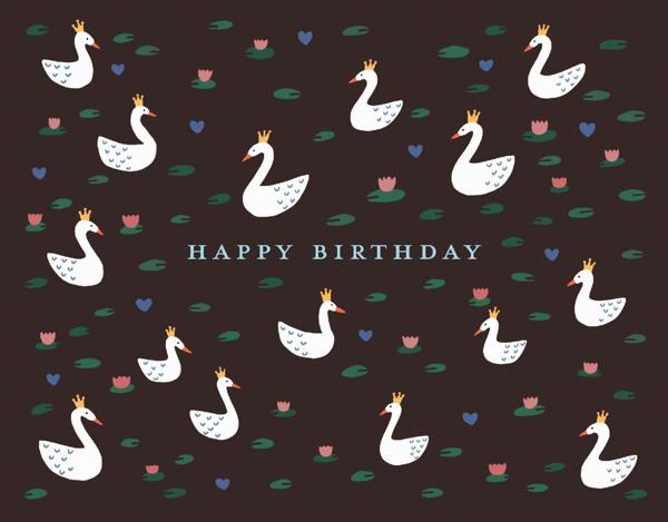 Swan Birthday
