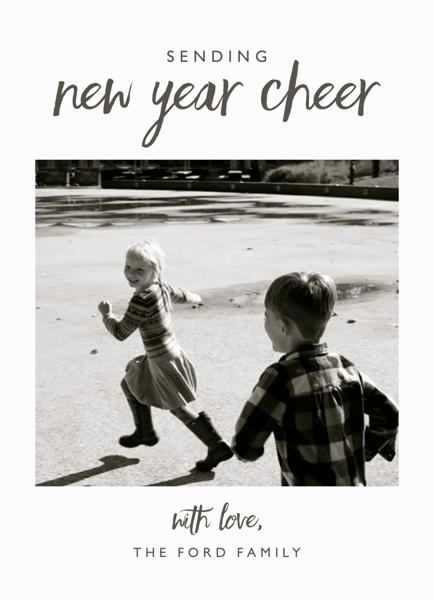 Brush New Year Cheer