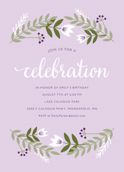 Party Invitations Mailed For You