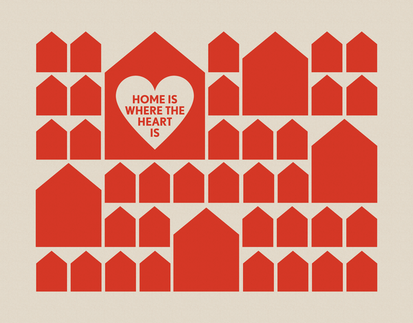 Home Is Where The Heart Is Card