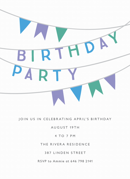Birthday Party Banner