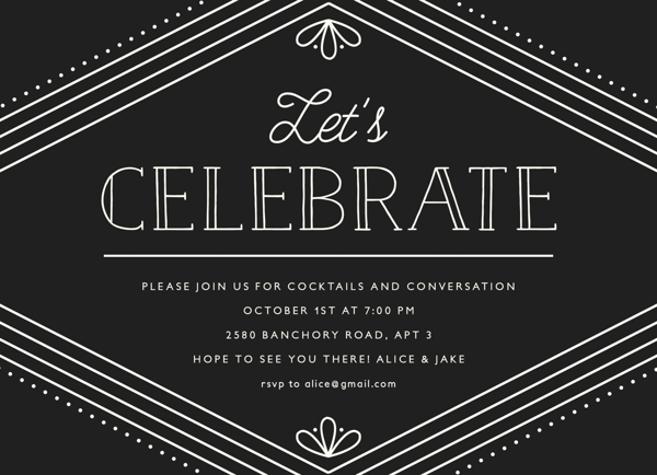 Art Deco Celebration