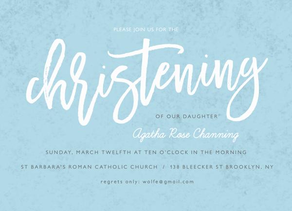 Brush Christening