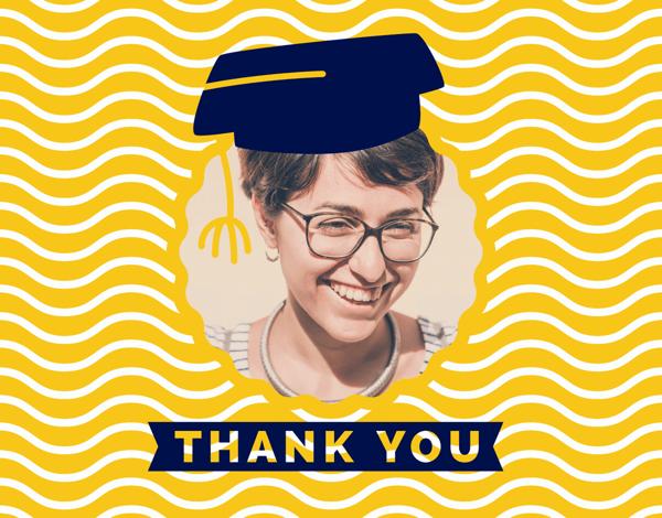 Graduation Thank You Hat