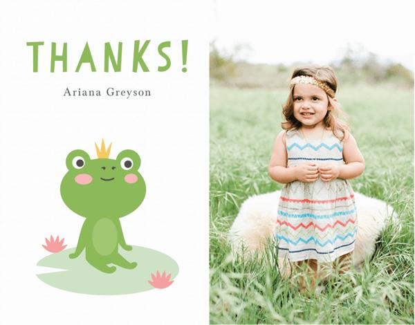 Frog Princess Thank You