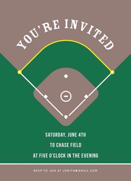 Baseball Invite
