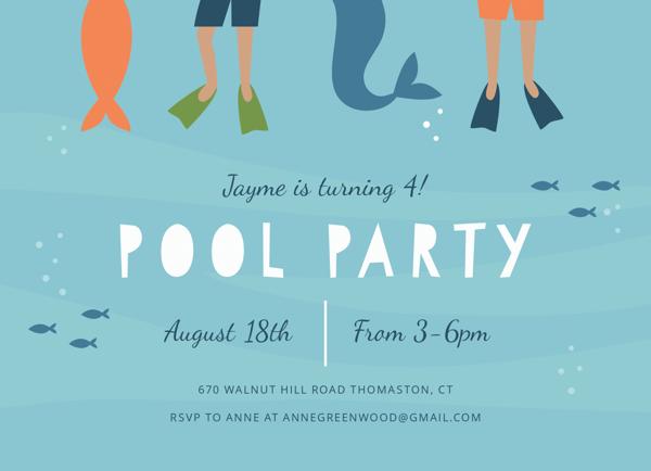 Mermaid Pool Party