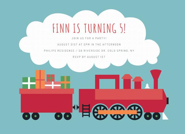 Red Train Birthday