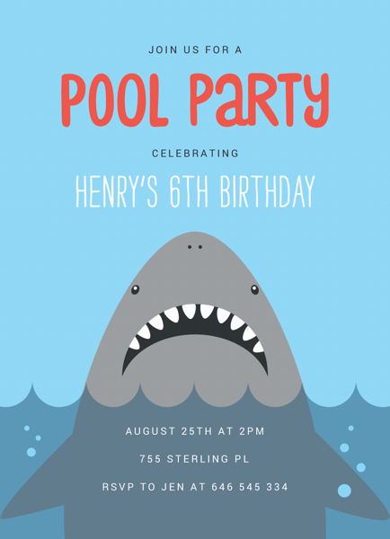 Shark Pool Party