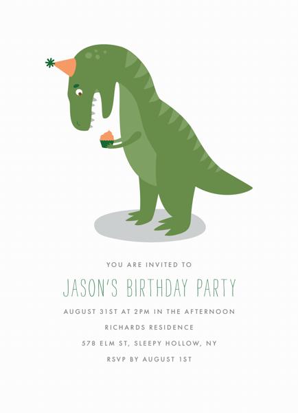 T-Rex Struggles Birthday
