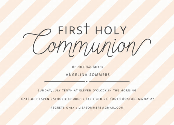 Communion Stripes