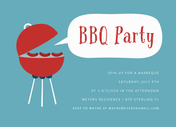 Simple BBQ Party