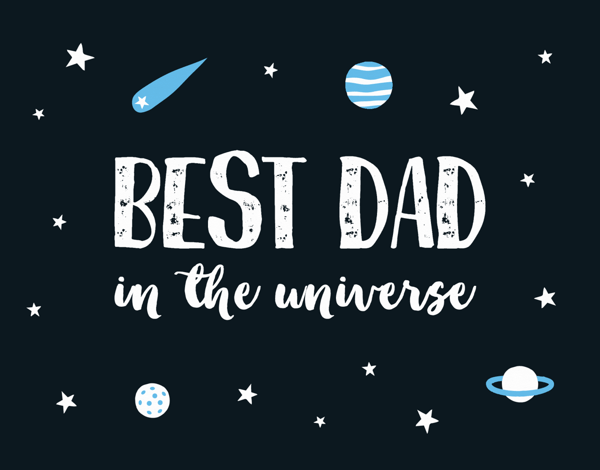 Best Dad In The Universe