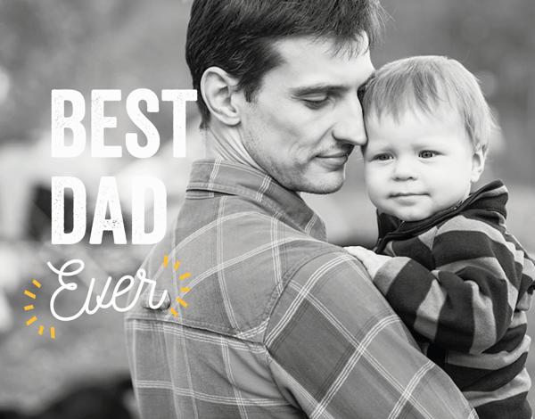 Best Dad Yellow