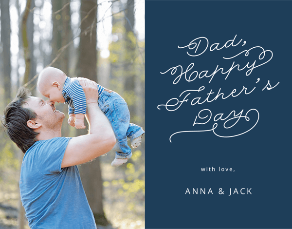 Father's Day Simple Script