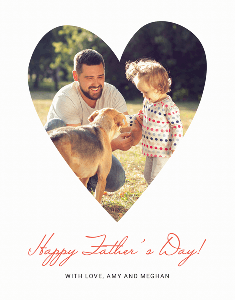 Father's Day Heart