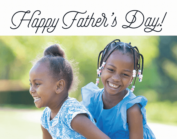 Vintage Script Father's Day