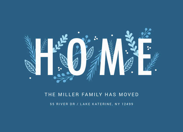 Blue Home Moving