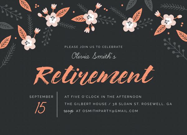 Floral Retirement