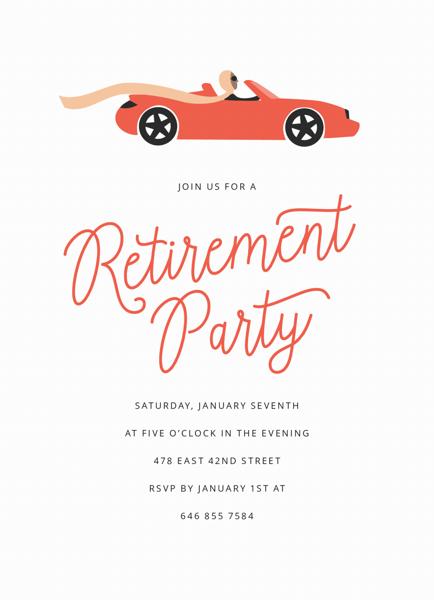 Red Car Retirement