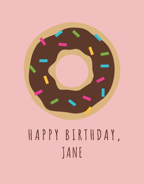 Donut Birthday