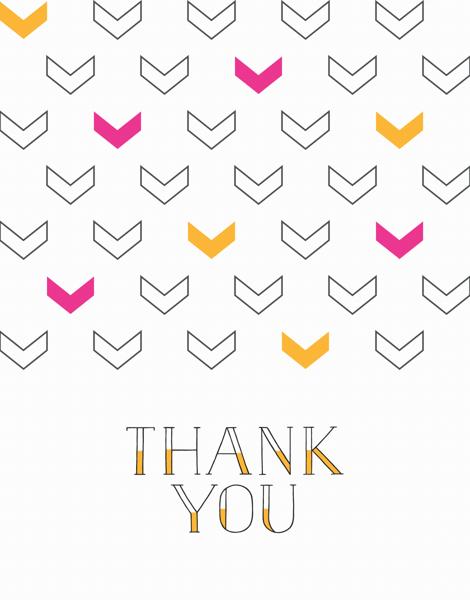Thank You Arrows