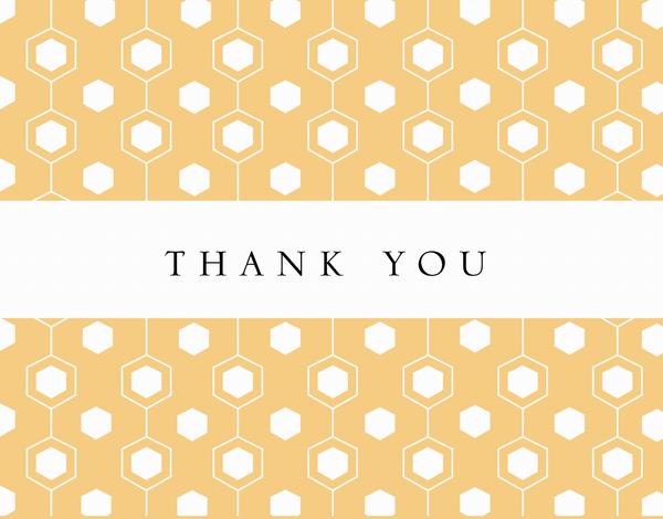 Thank You Beehive Pattern