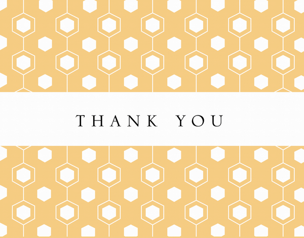 Thank You Beehive Pattern