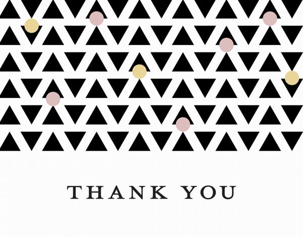 Thank You Geometric