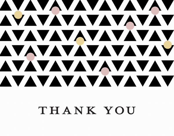 Thank You Geometric